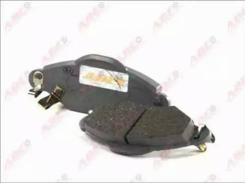 ABE C12103ABE - Kit de plaquettes de frein, frein à disque www.widencarpieces.com