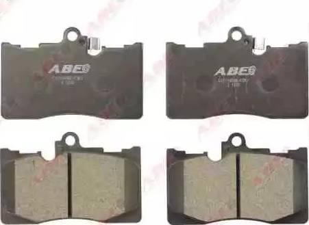 ABE C12116ABE - Kit de plaquettes de frein, frein à disque www.widencarpieces.com