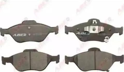 ABE C12118ABE - Kit de plaquettes de frein, frein à disque www.widencarpieces.com
