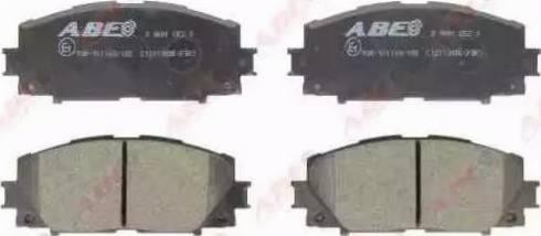 ABE C12113ABE - Kit de plaquettes de frein, frein à disque www.widencarpieces.com