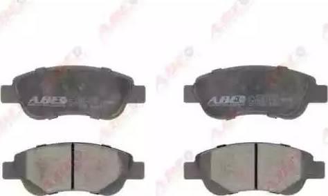 ABE C12112ABE - Kit de plaquettes de frein, frein à disque www.widencarpieces.com
