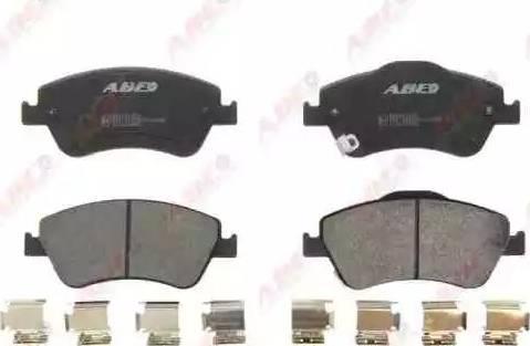 ABE C12131ABE - Kit de plaquettes de frein, frein à disque www.widencarpieces.com