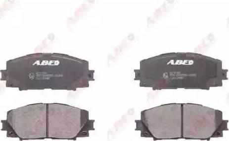 ABE C12133ABE - Kit de plaquettes de frein, frein à disque www.widencarpieces.com