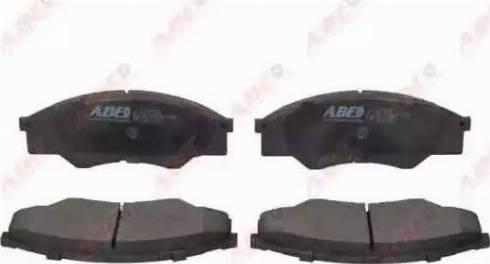ABE C12137ABE - Kit de plaquettes de frein, frein à disque www.widencarpieces.com