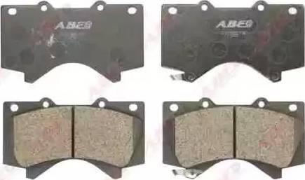 ABE C12129ABE - Kit de plaquettes de frein, frein à disque www.widencarpieces.com