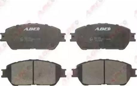 ABE C12125ABE - Kit de plaquettes de frein, frein à disque www.widencarpieces.com