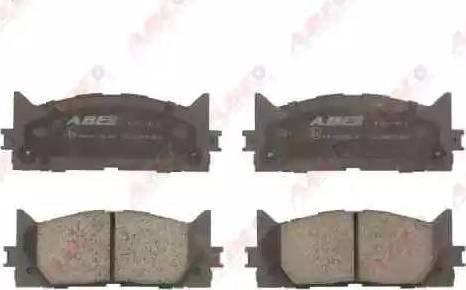 ABE C12120ABE - Kit de plaquettes de frein, frein à disque www.widencarpieces.com