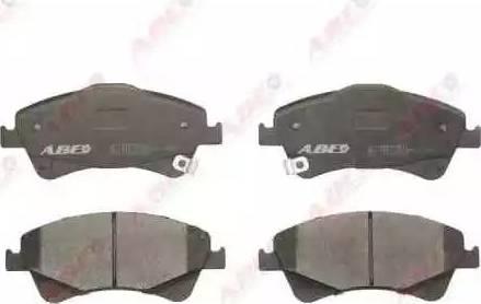 ABE C12123ABE - Kit de plaquettes de frein, frein à disque www.widencarpieces.com