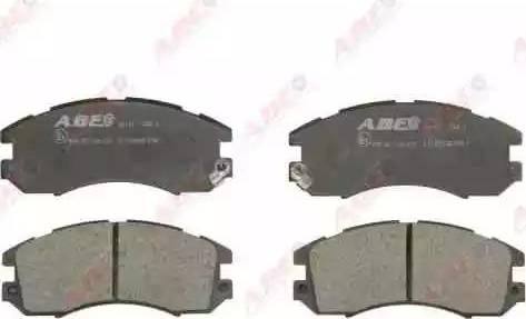 ABE C17005ABE - Kit de plaquettes de frein, frein à disque www.widencarpieces.com