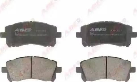 ABE C17011ABE - Kit de plaquettes de frein, frein à disque www.widencarpieces.com