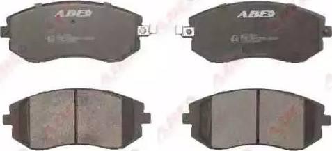 ABE C17013ABE - Kit de plaquettes de frein, frein à disque www.widencarpieces.com