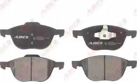 ABE C1G055ABE - Kit de plaquettes de frein, frein à disque www.widencarpieces.com
