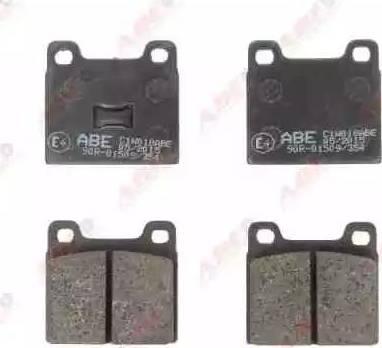 ABE C1W018ABE - Kit de plaquettes de frein, frein à disque www.widencarpieces.com