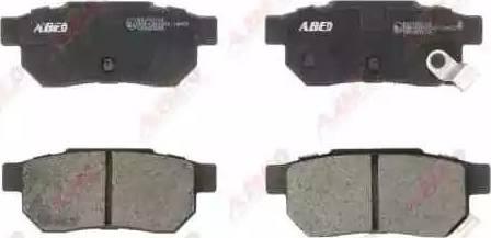 ABE C24007ABE - Kit de plaquettes de frein, frein à disque www.widencarpieces.com