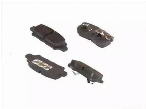 ABE C25012ABE - Kit de plaquettes de frein, frein à disque www.widencarpieces.com