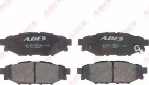 ABE C27005ABE - Kit de plaquettes de frein, frein à disque www.widencarpieces.com