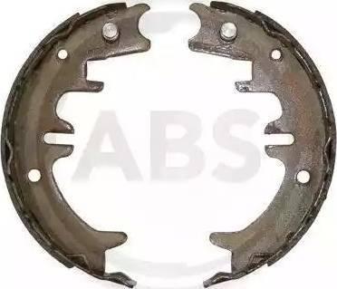 A.B.S. 9187 - Jeu de mâchoires de frein, frein de stationnement www.widencarpieces.com