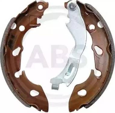 A.B.S. 9306 - Jeu de freins, freins à tambour www.widencarpieces.com