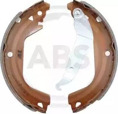 A.B.S. 9314 - Jeu de freins, freins à tambour www.widencarpieces.com