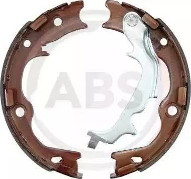 A.B.S. 9318 - Jeu de mâchoires de frein, frein de stationnement www.widencarpieces.com