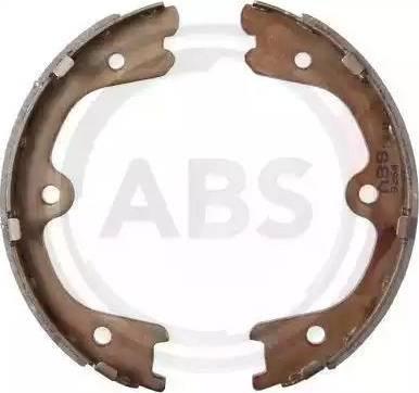 A.B.S. 9264 - Jeu de mâchoires de frein, frein de stationnement www.widencarpieces.com
