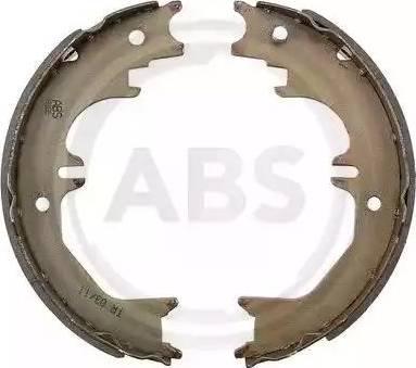 A.B.S. 9286 - Jeu de mâchoires de frein, frein de stationnement www.widencarpieces.com