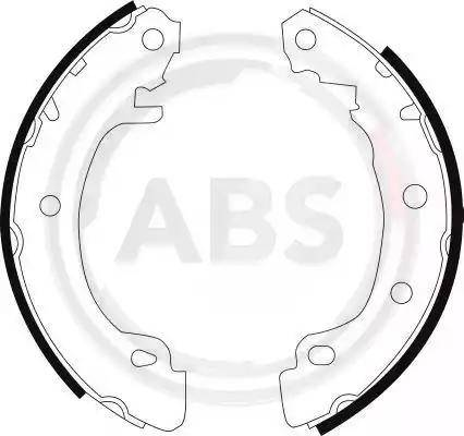 A.B.S. 8988 - Jeu de freins, freins à tambour www.widencarpieces.com