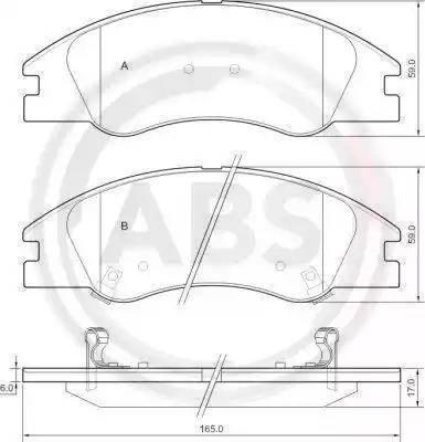 RIDER RD.3323.DB3367 - Kit de plaquettes de frein, frein à disque www.widencarpieces.com