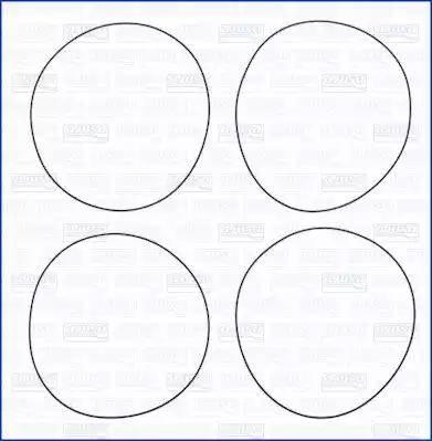 Ajusa 60010300 - Jeu de joints d'étanchéité, chemise de cylindre www.widencarpieces.com