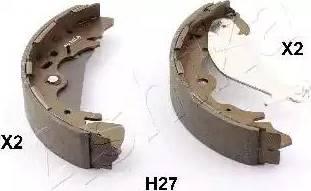 Ashika 55-0H-H27 - Jeu de freins, freins à tambour www.widencarpieces.com