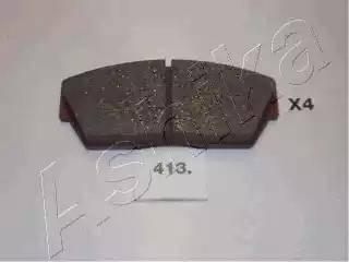 Ashika 50-04-413 - Kit de plaquettes de frein, frein à disque www.widencarpieces.com