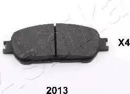 Ashika 50-02-2013 - Kit de plaquettes de frein, frein à disque www.widencarpieces.com