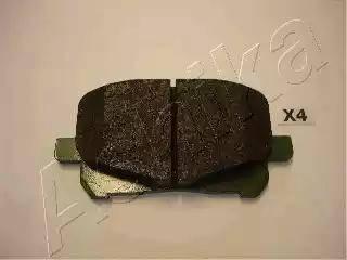 Ashika 50-02-270 - Kit de plaquettes de frein, frein à disque www.widencarpieces.com
