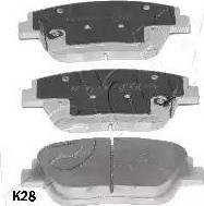 Ashika 50-0K-K28 - Kit de plaquettes de frein, frein à disque www.widencarpieces.com