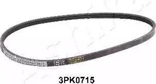 Ashika 1123PK0715 - Courroie trapézoïdale à nervures www.widencarpieces.com