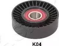 Ashika 129-0K-K04 - Poulie renvoi/transmission, courroie trapézoïdale à nervures www.widencarpieces.com