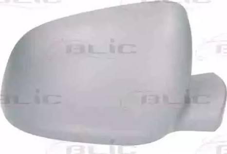 BLIC 6103-02-2001762P - Boitier, rétroviseur extérieur www.widencarpieces.com