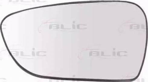 BLIC 6102-53-2001487P - Verre de rétroviseur, rétroviseur extérieur www.widencarpieces.com
