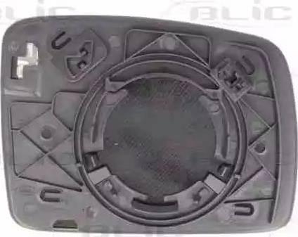 BLIC 6102-57-2001623P - Verre de rétroviseur, rétroviseur extérieur www.widencarpieces.com