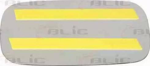 BLIC 6102010046P - Verre de rétroviseur, rétroviseur extérieur www.widencarpieces.com