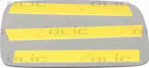 BLIC 6102010181P - Verre de rétroviseur, rétroviseur extérieur www.widencarpieces.com