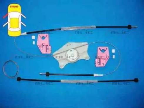BLIC 6205-43-009801P - Kit de réparation, lève-vitre www.widencarpieces.com