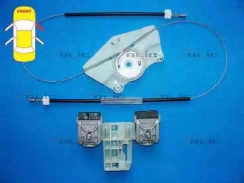 BLIC 6205-43-008802P - Kit de réparation, lève-vitre www.widencarpieces.com