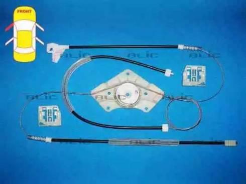 BLIC 6205-43-003817P - Kit de réparation, lève-vitre www.widencarpieces.com