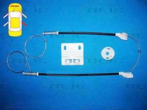 BLIC 6205-57-007804P - Kit de réparation, lève-vitre www.widencarpieces.com