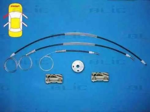 BLIC 6205-57-007801P - Kit de réparation, lève-vitre www.widencarpieces.com