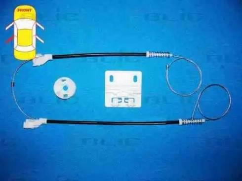 BLIC 6205-57-007803P - Kit de réparation, lève-vitre www.widencarpieces.com