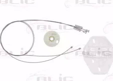 BLIC 6205-67-001801P - Kit de réparation, lève-vitre www.widencarpieces.com