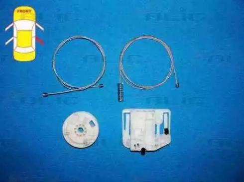 BLIC 6205-09-046804P - Kit de réparation, lève-vitre www.widencarpieces.com