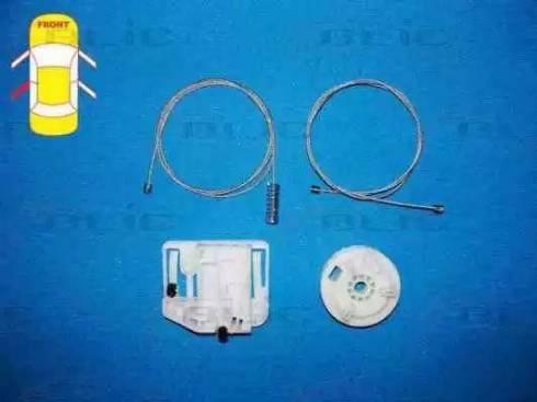 BLIC 6205-09-046803P - Kit de réparation, lève-vitre www.widencarpieces.com